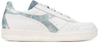 Diadora glitter panel sneakers
