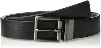 Armani Exchange A|X Men's Skinny Leather Belt