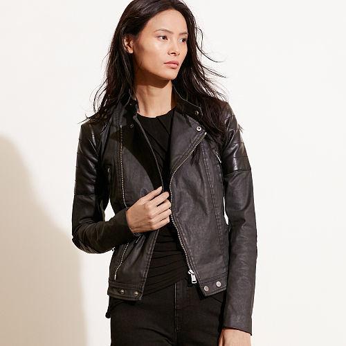 Ralph Lauren Coated Moto Jacket