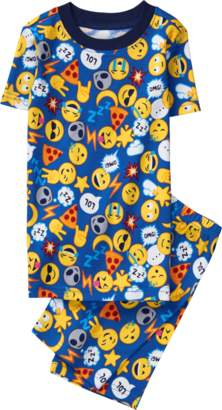 Gymboree Emoji 2-Piece Pajamas