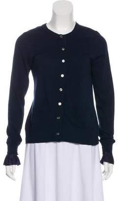 Sacai Luck Long Sleeve Button-Up Cardigan