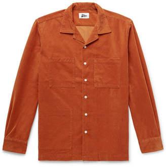 Pilgrim Surf + Supply Camp-Collar Cotton-Blend Corduroy Shirt