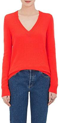 Barneys New York Women's Cashmere Loose-Knit V-Neck Sweater
