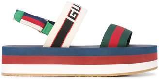 Gucci flatform sandals