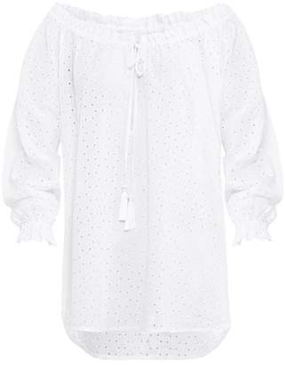 Paolita White Off-shoulder Blouse