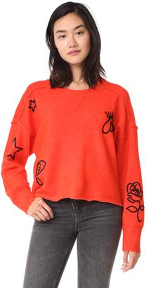 Wildfox Alchemy Icons Gate Sweater $224 thestylecure.com