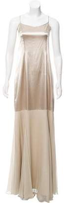 Teri Jon Ricki Freeman x Silk Evening Dress