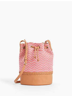 Talbots Chevron Texture Bucket Bag