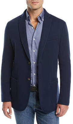 Peter Millar Men's Crown Comfort Two-Button Blazer