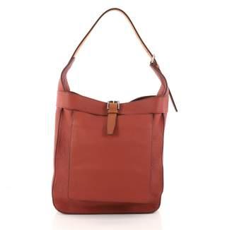 Hermes Brown Leather Handbag
