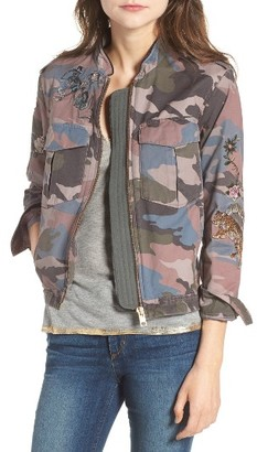 Women's Zadig & Voltaire Kavy Embroidered Utility Jacket $398 thestylecure.com