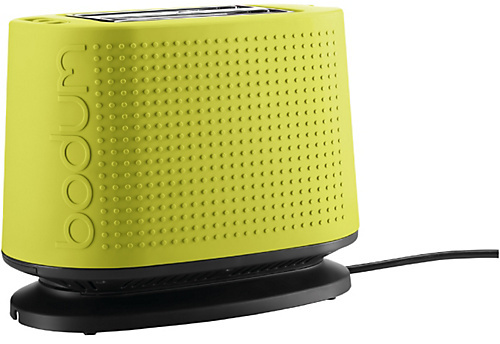 Bodum Bistro 2 Slice Toaster - Lime Green