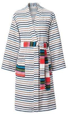 Sonia RykielSonia Rykiel Paris Rue De Nevers Blanc Striped Bath Robe