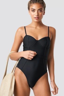 f72e06b115 Na Kd Swimwear Corset Swimsuit Black