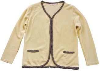 Maje Yellow Linen Knitwear for Women