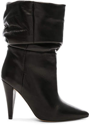 IRO Leather Bergula Ankle Boots