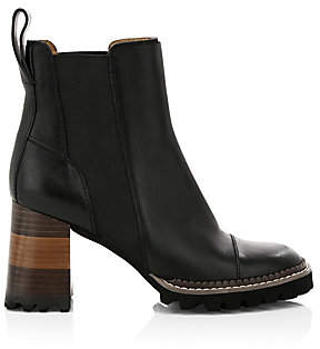 See by Chloe Women's Lug Sole Chelsea Boots