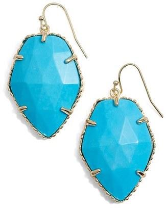 Women's Kendra Scott 'Corley' Faceted Stone Drop Earrings $75 thestylecure.com