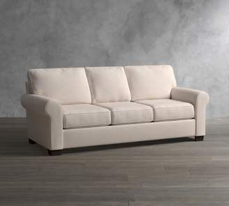 Pottery Barn Buchanan Roll Arm Upholstered Sofa