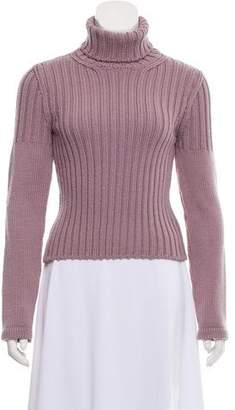 Calvin Klein Collection Lilac Merino Wool Turtleneck