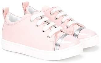Lanvin Enfant classic lace-up sneakers