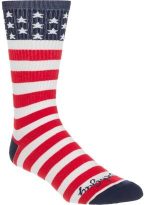 Sockguy SockGuy USA Flag 8in Sock