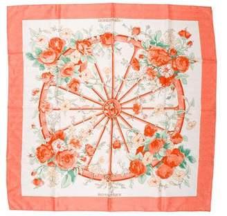 Hermes Romantique Silk Jacquard Scarf