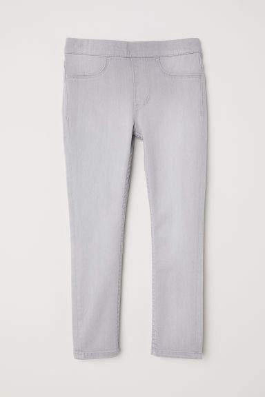 H&M - Denim Leggings - Gray
