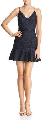 Keepsake Utopia Lace Mini Dress