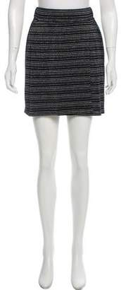 Dolce & Gabbana Metallic Mini Skirt