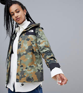 The North Face (ザ ノース フェイス) - The North Face Womens 1990 Mountain Jacket GTX in Macrofleck Print