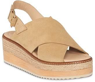 Whistles Women's Rafi Suede Platform Sandals