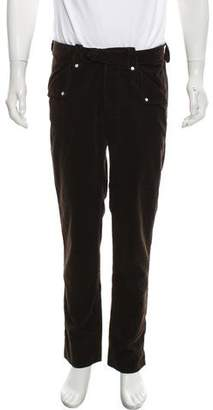 Michael Bastian Mother of Pearl Detailed Corduroy Pants