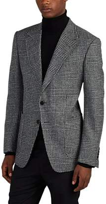 Tom Ford MEN'S PLAID WOOL TWEED TWO-BUTTON SPORTCOAT