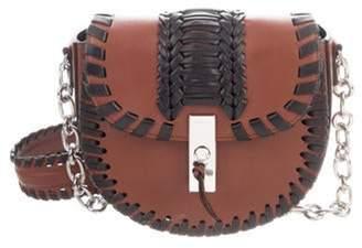 Altuzarra Leather Ghianda Saddle Bag Brown Leather Ghianda Saddle Bag