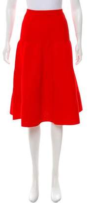 Victoria Beckham A-Line Knee-Length Skirt
