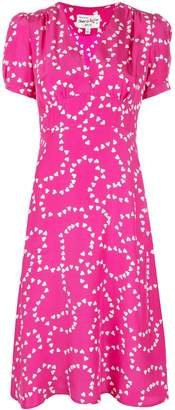 HVN hearts print dress