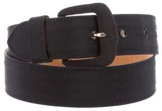 Giorgio Armani Canva Buckle Belt