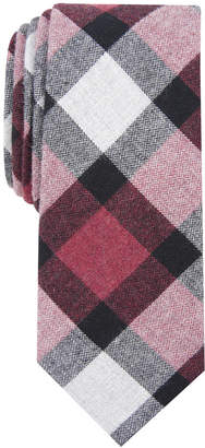 Bar III Men's Jasper Plaid Skinny Tie, Created for Macy's