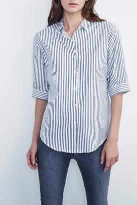 Velvet Cass Cotton Stripe