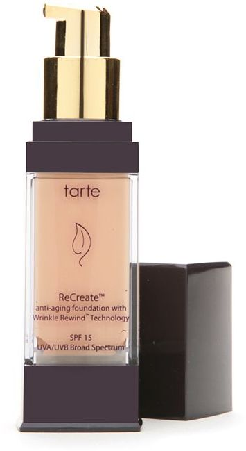 Tarte ReCreate anti-aging foundation with Wrinkle Rewind technology SPF 15, Porcelain