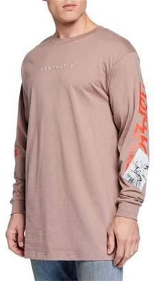 Diesel Men's Lucas Oversized Long-Sleeve T-Shirt