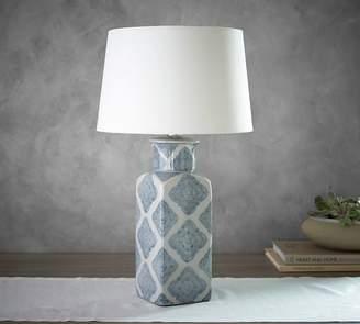Pottery Barn Langley Ceramic Urn Lamp