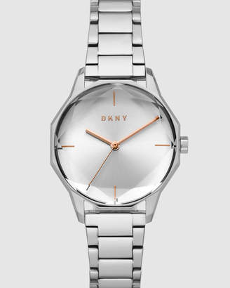 DKNY Round Cityspire Silver-Tone Analogue Watch