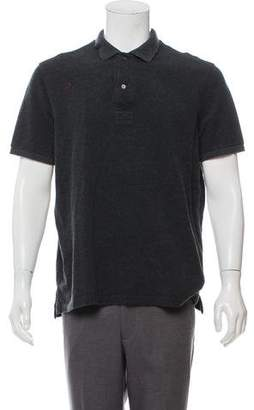Tom Ford Woven Polo Shirt