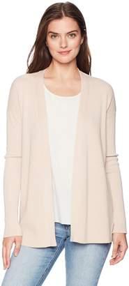 Ellen Tracy Women's Long Sleeve Button Front Cardigan