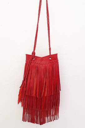 Areias Leather Red Leather Bag