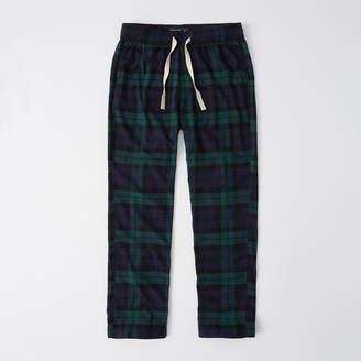 5b7a78c300a4 Abercrombie   Fitch A F Men s Classic Sleep Pant in Green Navy Blue - Size M