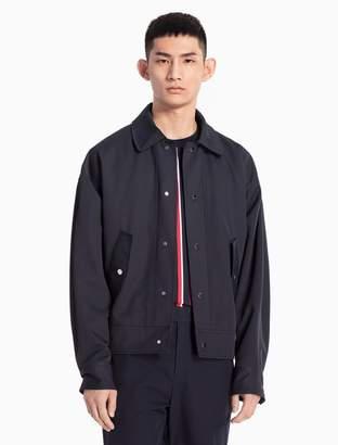 Calvin Klein nylon woven jacket