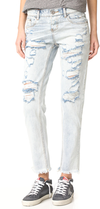 One Teaspoon Blue Hart Awesome Baggie Jeans $139 thestylecure.com